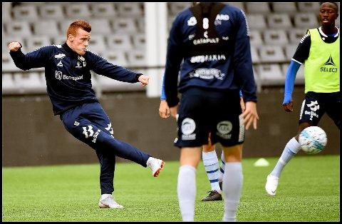 GLEDER SEG: Tobias Heintz gleder seg til en ny magisk kveld på Sarpsborg stadion.