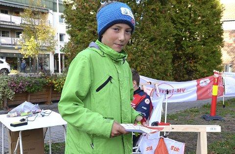 – DETTE VAR MORO: – Jeg var nysgjerrig på hva O-VM-labyrint var og ble derfor med. Dette var moro, sier Eliaz Eriksson (12).