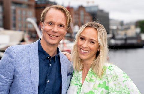 God sommer Norge, Katarina Flatland og Petter Pilgaard  Bildene kan kun brukes i av media i forbindelse med omtale av TV 2 eller TV 2s programmer.