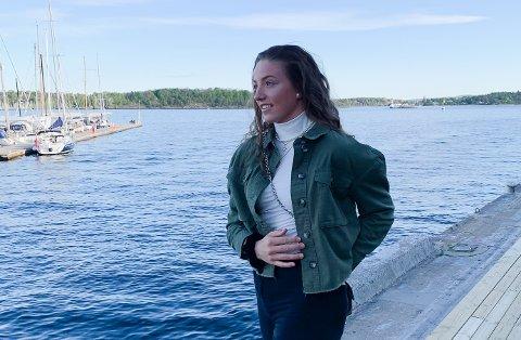 FRISK: Hanna Kristine Larsen er frisk igjen, og imponerte på direkten etter en trøblete tid. Foto: Privat