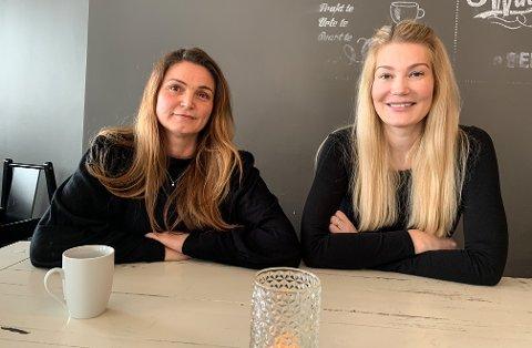 Jeanette Oterkiil og Iselin Meyer Finmark.