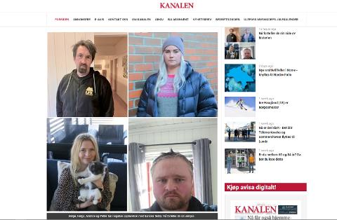 STÅR FRAM: Lokalavisa Kanalen i Nome har intervjua flere personer som forteller at de er bitt av blandingshunden Teddy.