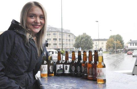 Satser: Ida Selliseth Bakken fra Heddal er daglig leder av Larvik Mikrobryggeri i Skien og satser på nisjeøl som skal bidra til å styrke kunders merkevare og identitet. Eyde-øl og stuntet «Jamtveit-øl» er på plass. – Det å møte en fyr som Stein Lunde ved Eyde Bar og Restaurant er jo bare så flott. Det er gøy å skape noe sammen, sier øldirektøren som også er ansvarlig for en pub i Larvik med øl laget gjennom skikkelig håndverk.