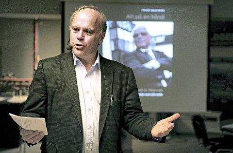 Hegerberg mener det fortsatt er grunn til å være positiv til olje i Kristiansund, men at næringen må omstille seg. Arkivfoto