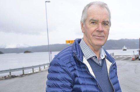 PÅ LETING: Iver Nordseth skal på leting rundt om i fylket på jakt etter dei nye toppfolka for Venstre.