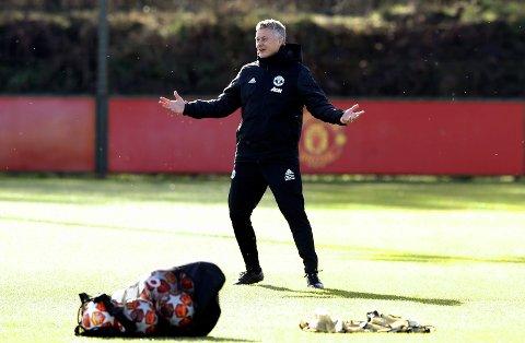 Ole Gunnar Solskjær har gjort sitt for å forberede Manchester United-laget til tirsdagens mesterligakamp mot PSG.