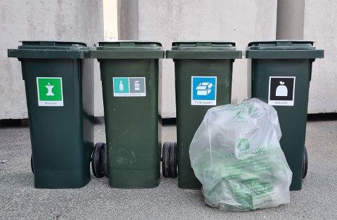 Målet er at vi skal bli enda flinkere til å sortere nærmere der søppelet genereres. Informasjonsskrivet vi har fått er ordlagt med omhu, men treffer ikke nerven som motiverer, skriver Kitty Eide.