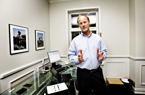 NY BOK: Tjømesaken får god plass i den nye boka som BI-professor Petter Gottschalk holder på å skrive.