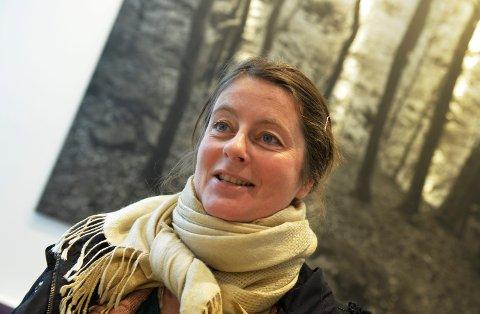 VÅR INNENDØRS: Vibeke Lia, leder i Tønsberg Filmklubb, ønsker velkommen til nok en variert filmvår.