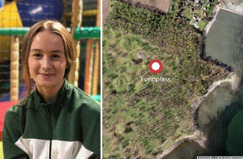 EN SPESIELL DAG PÅ JOBB: Kaisa Fostervoll Tonning var 14 år da hun ble med arkeologpappaen sin på jobb og fant noe helt spesielt. Siden har hun måttet holde på hemmeligheten helt til nå, nesten to år senere.