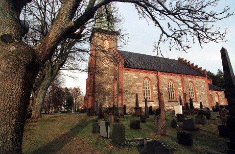 AVLYST: Den formelle innsettelsen av sogneprest Tonje Røgeberg her i Tjøme kirke ble forrige søndag avlyst og utsatt.