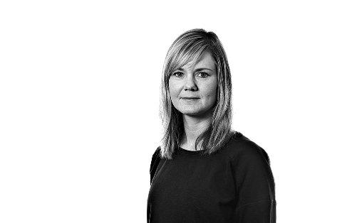 Berit Buran Juul. Journalist i Trønder-Avisa. Bylinebilde 2018.