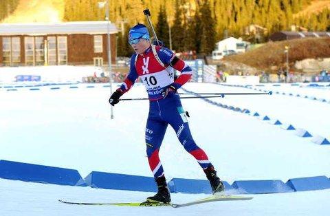 SESONGÅPNING: Harald Øygard gjorde en godkjent sesongåpning under Norgescup-rennene på Geilo i helga.