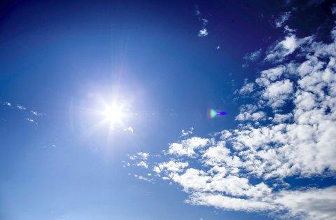KOMMER TILBAKE: Søndagen blir våt, men fra mandag er drømmeværet tilbake ifølge meteorologen.