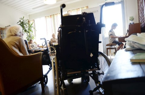 IKKE ET VALG: Til høsten kan ikke kommunene lenger velge ideelle aktører. Her fra Nes sykehjem.