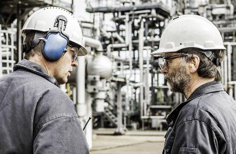 STØRST: Trainor er størst i verden på sertifisering av personell innenfor eksplosjonsfarlig industri. Bildet er fra Esso Slagen.
