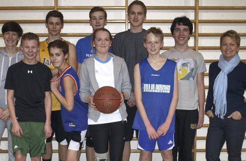 Vipps: Gøril Wold Wægger (t.h.) i NIF Basket håper på et lokalt engasjement for å få fem ungdommer fra Sør-Afrika til Nesodden.