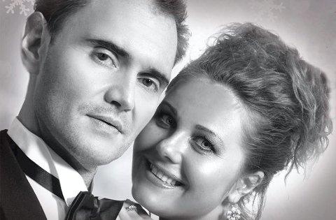 Kommer: Det er første gang operasanger Maria Lyudko og skuespiller og klarinettspiller Georges Devdariani opptrer i Norge. Pressefoto