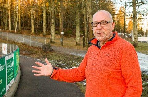 Daglig leder Arild Andreassen roser Grasrotandelen og mener inntektene er viktige for Nesodden IF.