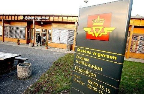 Politiet opplyser at det har vært et innbrudd i lokalene til Statens Vegvesen i Drøbak.