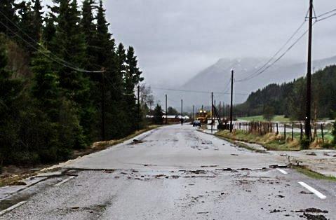 Fylkesveg 30, nord i Tylldalen