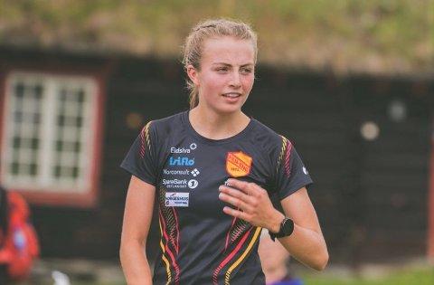 SØLV BLANT SENIORENE: Ingeborg Østgård fortsetter å imponere. I helga tok hun NM-sølv i seniormesterskapet.