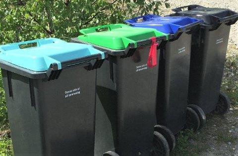 EN AV ÅRSAKENE: Budsjettet sprakk når det gjaldt utkjøring av de nye søppeldunkene. Men for abonnentene får ikke fjorårets underskudd noen konsekvenser med ytterlige abonnementsøkning i 2021.