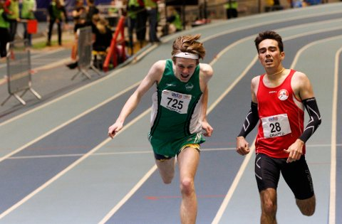DISKET: Ole Jacob Solbu kom inn som nummer fire på 400 meter. Han ble senere disket.