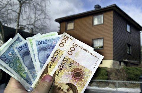 TAKSERING: Flertallet i kommuenstyret stemte for å starte takseringer av boliger i Ås kommune med tanke på eiendomsskatt. Foto: Arkiv