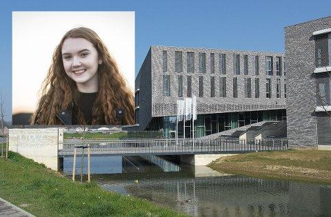 Synne Petersen Syslak (16) skal gå på UWC-skulen i Maastricht.