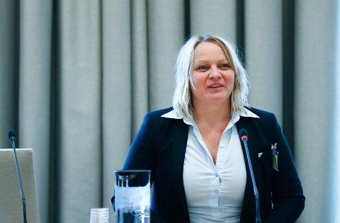 Mona Fagerås sitter på nordlandsbenken til Stortinget for SV.