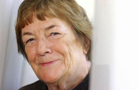 Margit Sandemo er død, 94 år gammel. Her fotografert i 2001.