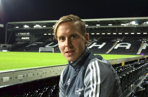 Stefan Johansen var i godt humør etter å ha slått Millwall 4-0 onsdag kveld. Vardøværingen spilte samtlige 90 minutter.