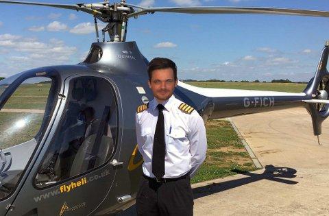 Brønmo er ikke helikopterpilot: - Men etter all responsen var annonsen bør jeg jo nesten vurdere det