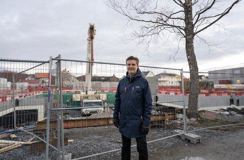 Områdeleder Pål Martin Arntzen i DNB Eiendom Nybygg.