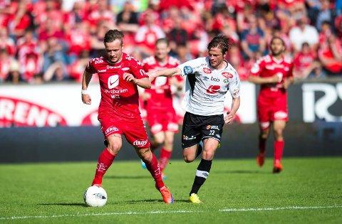Aalesund skal være interesser6t i å kjøpe Fredrik Haugen.