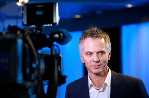 Bærum  20160211.  Ragnar Kårhus administrerende direktør i Telenor Broadcast Holding AS er enige om en avtale for distribusjon av TV Norge og en rekke andre kanaler. Foto: Vidar Ruud / NTB scanpix