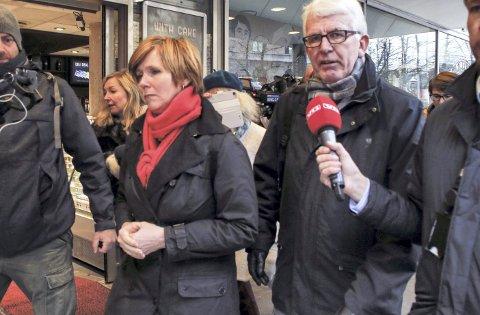 HELTER: Min oppfordring til Dag Steinfeld og Christine Meyer er at dere ikke bøyer nakken og fortsetter å ruve og irritere.        Vi har nok grå og kjedelige byråkrater i Norge, skriver Trond Tystad i dagens spalte.FOTO: NTB SCANPIX