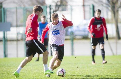 Steffen Lie Skålevik ble Branns toppscorer forrige sesong, men har bare fått 28 minutter på banen så langt denne sesongen.