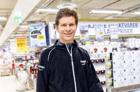 Øystein Kahrs, administrerende direktør i Coop Hordaland.