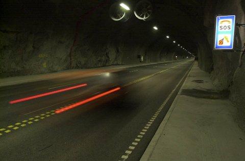 I mai skal skal dagens punktmålingssystem skiftes ut med automatisk strekningsmåling av fart i Bømlafjordtunnelen.