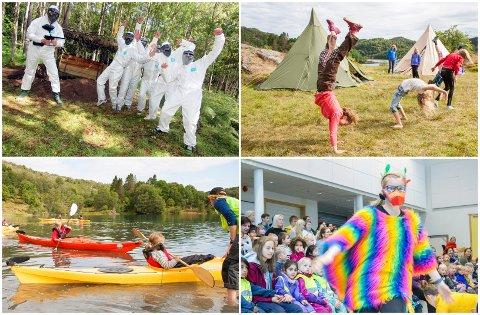 FULLPAKKA PROGRAM: Paintball, overnattingsturer, vannaktiviteter og teater er bare noen av alle aktivitetene som i sommer tilbys barn og unge i Eigersund.