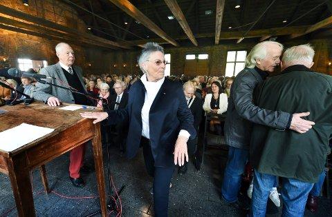 VINNER: Tone Sinding Steinsvik og Blaafarveværket kan juble over budsjettet.