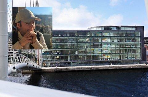 Erik André Ruud (26), leder for Studentsamfunnet Drammen (innfelt), er ikke overrasket om at all undervisning ved campus Drammen ble avlyst.