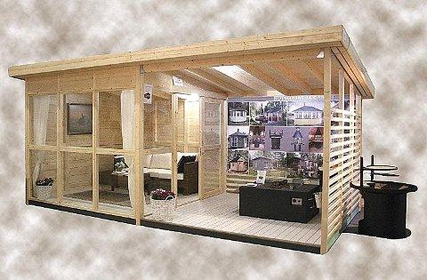 Allwood Solvalla Studio Cabin Kit solgte ut allerede første dag på markedet. Foto: Amazon