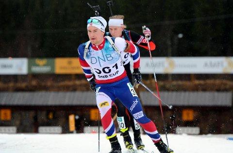 UTTEKEN: Skiskyttar Håvard Gutubø Bogetveit skal gå IBU-cup i Tyskland komande helg.