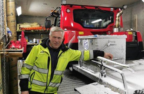 Kjell Einar Viken, Langeland skisenter