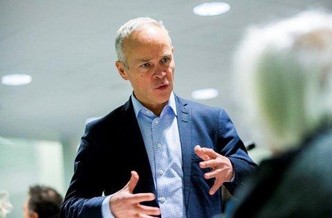 TIL FREDRIKSTAD: Kommunal- og moderniseringsminister Jan Tore Sanner kommer på besøk til Fredrikstad tirsdag 3. februar.