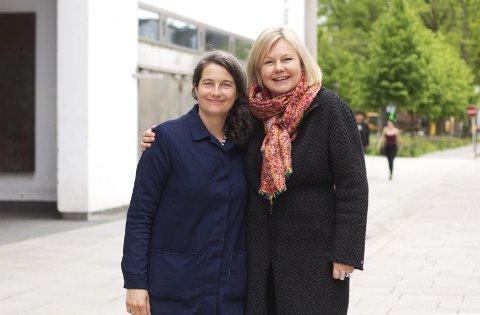 Fornøyde: Malin Andersson og Hege Dehli (til høyre) etter norgespremièren på «Blood Sisters». Begge foto: Henrik Vinje Pedersen