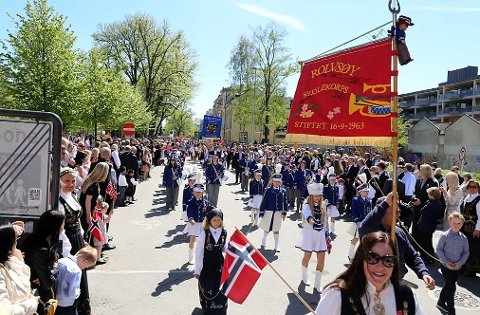Mer sikkerhet: Trusselsituasjonen i Europa og Norge tilsier økt politiberedskap på 17. mai flere steder i landet, også i Fredrikstad.
